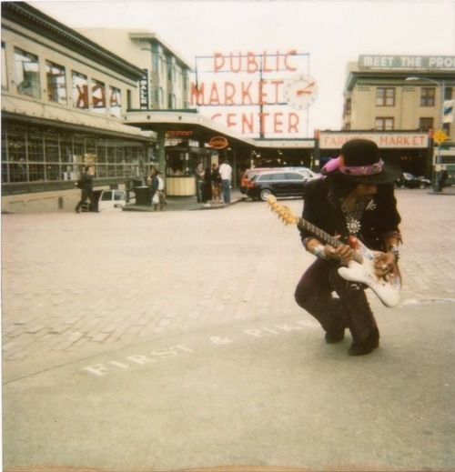 Hendrix in Seattle.