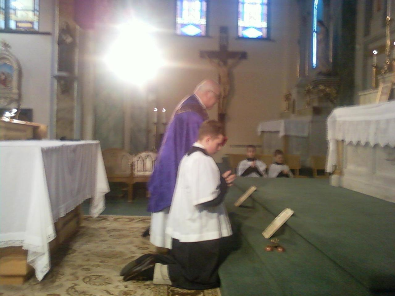 First sunday of Advent, 2011, St Anthony of Padua, Buffalo NY