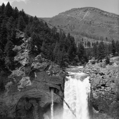 cnhedeen:  waterfall Ilford PanF+