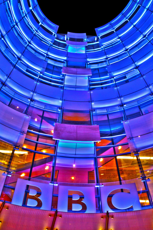 BBC London (Langham Street) - Taken by me