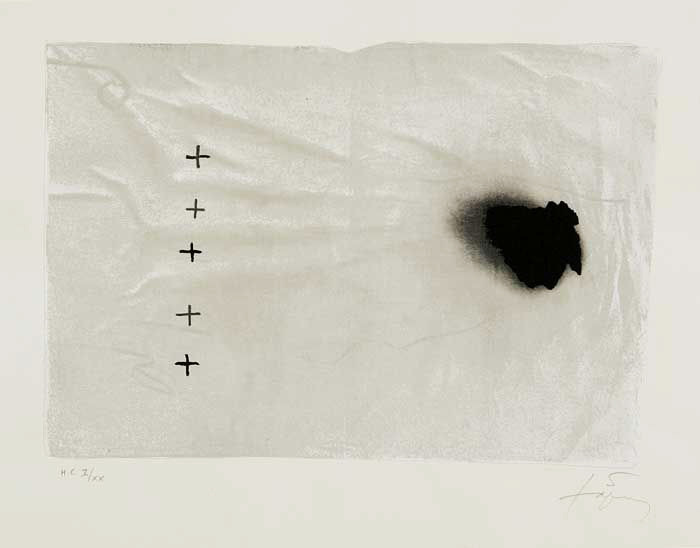 thomaspayne:  Antoni Tapies via Drencrome: