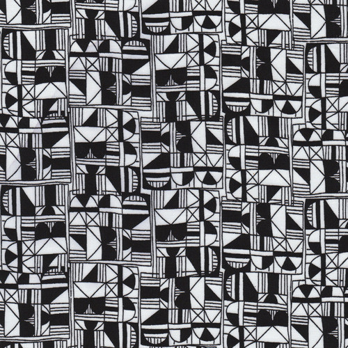 graphicpalette:  Miscellany Stacked fabric pattern by Julia Rothman from Drygoods Design Online via Print & Pattern Blog