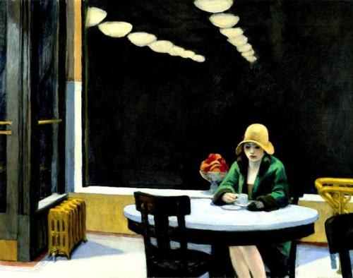 Automat, Edward Hopper, 1927