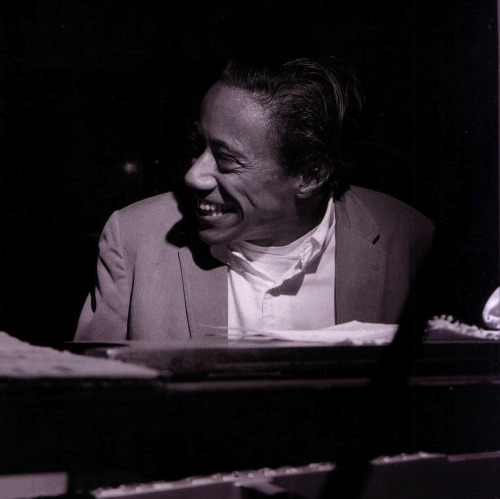 bainer:  Horace Silver during his Song For My Father session, Englewood Cliffs NJ, October 26 1964