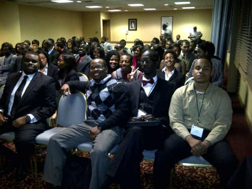My NSBE chapter at our Fall Regional Conference last weekend.