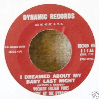 Lillian Vines - I Dreamed About My Baby Last Night