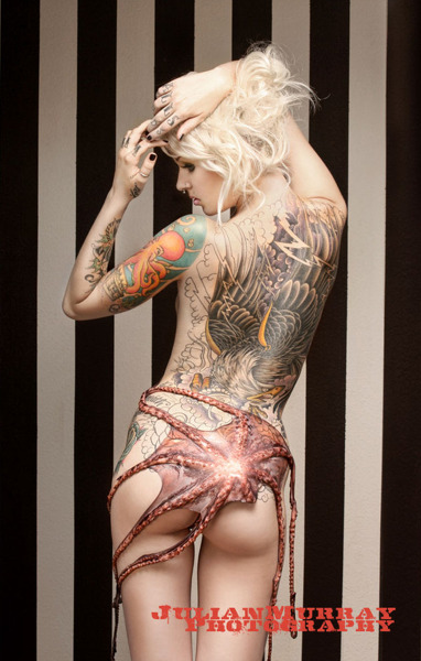 Tattoos and Tentacles  by Julian Murray