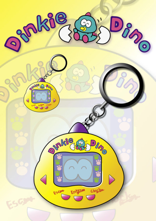 (floaming) I'm somewhat of a Tamagotchi elitist BUT I do miss my dinkie dino.