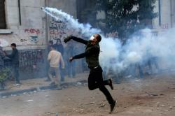 Egyptian Protester. Superhero. Athlete. Hero. #Tahrir, Cairo, Egypt.