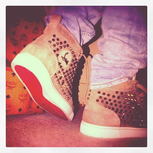 joshuaweekes:  #MCM #ChristianLouboutin (Taken with instagram)