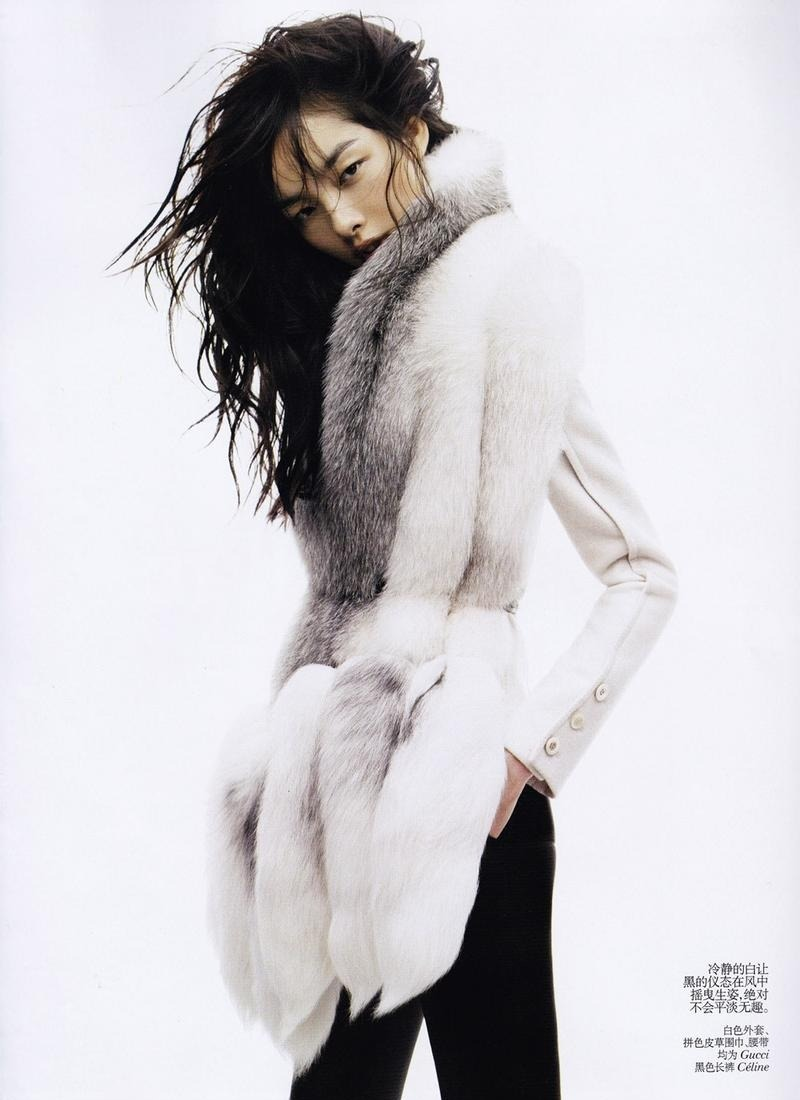 nemandrea:  Sun Fei Fei - Vogue China November 2011