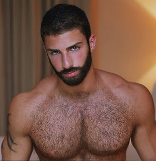 hunkdude:  #Adam Ayash … sometimes suggestive, never #nude.