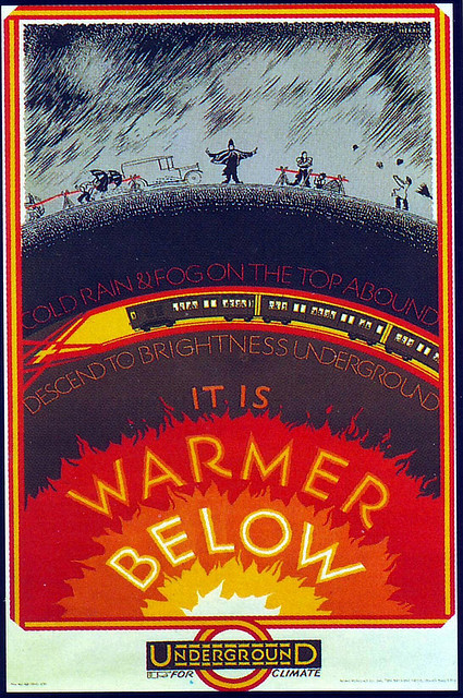 fine-things:  London Underground Poster - 1927 by lipskin on Flickr.