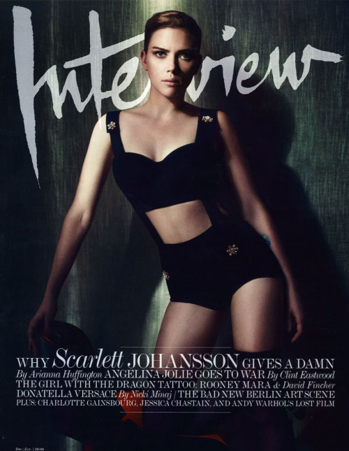 Scarlett Johansson (Interview, december 2011)