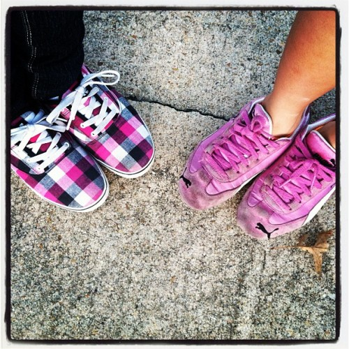 Mother & Daughter Pink/Black Love (Taken with instagram)