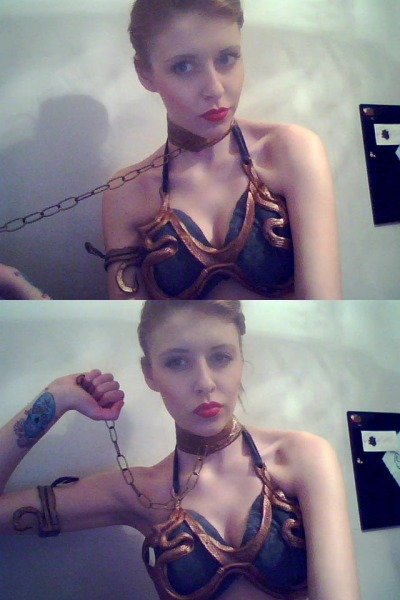 Slave Leia | cosplay by Hannah-Kate (reveriesofflight)  {via flames-of-monki | reveriesofflight}