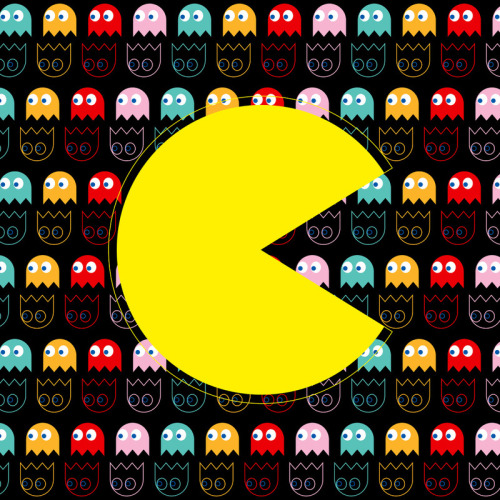 Pacman Love - by Ornaart via GeekRest