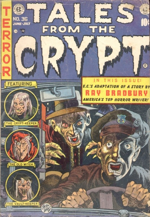 Tales from the Crypt #36, June-July 1953
