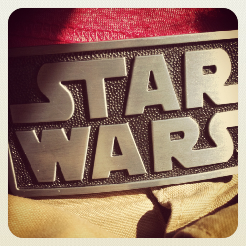 The coolest belt buckle in the galaxy…