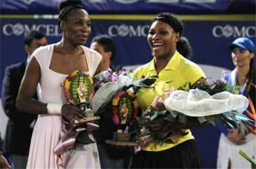 wegotgame2:    Venus Williams defeated sister Serena 6-4, 7-6 (5) in an exhibition match in Colombia, the first match for both since the U.S. Open in September. The match late Wednesday was the first for Venus since she pulled out of the U.S. Open after the first round because of an immune system disease.