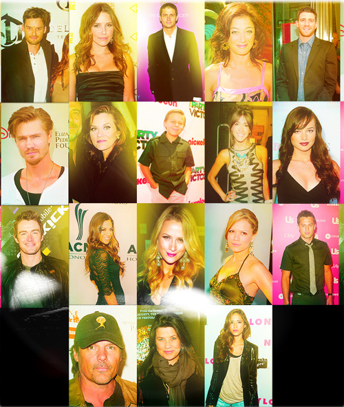 One Tree Hill; All grown up. (aka: recent sightings of cast)