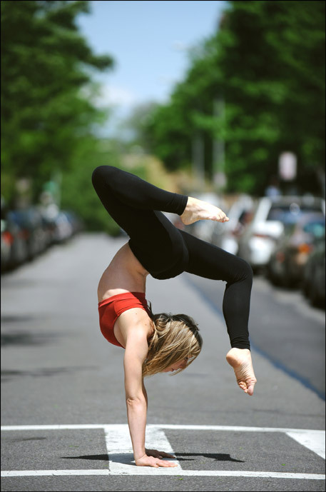 yogillama:  john449:  yoga pose of the day  once I can do handstand I have no doubt I will be able to do this pose, since it looks like a different variation of plough, to me. I know it's not but thats what it reminds me of.