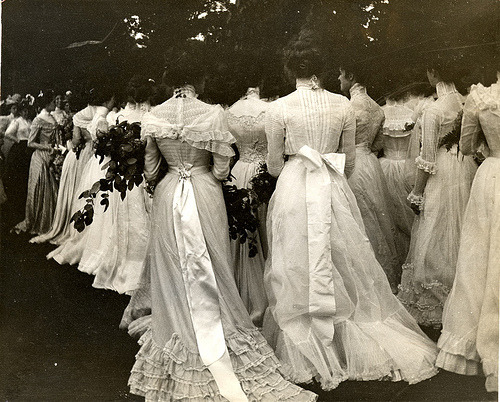 1895 Vassar Class Day On the Lawn