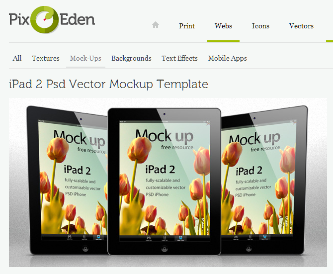 iPad 2 Vector PSD FREEBIE another well crafted psd resource found by yours truly. You know what makes this doubly awesome? It's royalty free as well, so it can be used for both commercial and personal use. Sweet.