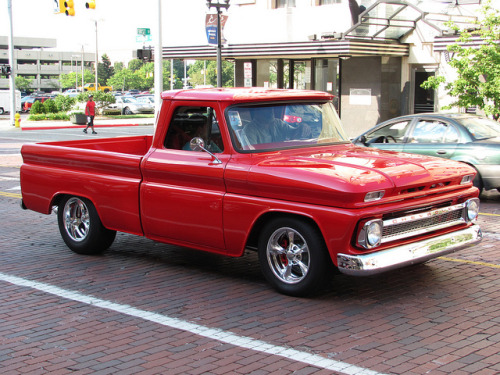 Vintage Chevrolet Pickup by TrueWolverine87 on Flickr.Via Flickr: Back to the Bricks, Flint, Michigan.