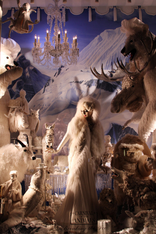So I didn't really like Bergdorf Goodman Holiday Windows…click to read why/see the windows.