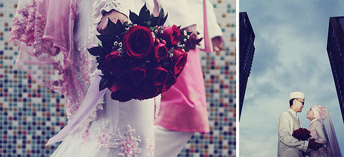 Look who's married now?!Preview: Aishah & Faizal