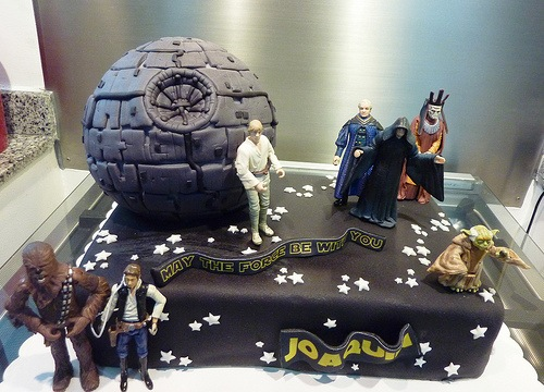 notoriouscupcakes:  Star wars cake