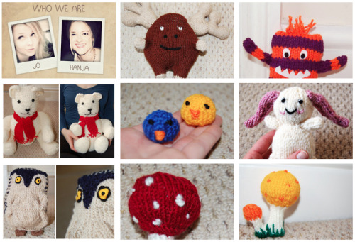 Just knitting - support our charity project, where we knit toys for the Children Hospice Richard House in East London. Please help us making these kids smile. Thank you!