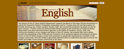 UC Davis English department calls for Chancellor Katehi's resignation