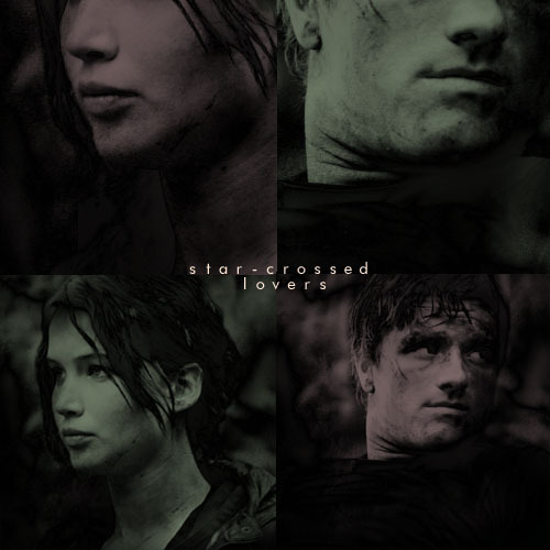 The star-crossed lovers from district 12