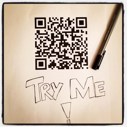 Digital Me #qr #greetings #code #random #me  (Taken with instagram)