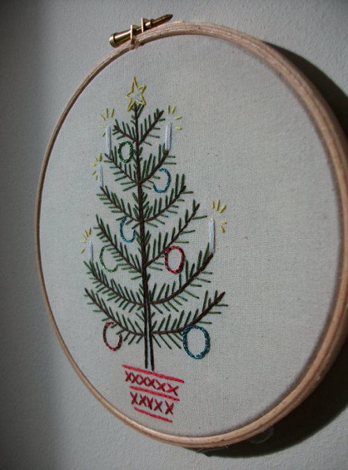I just sold one of my Christmas trees in my etsy store, one left!