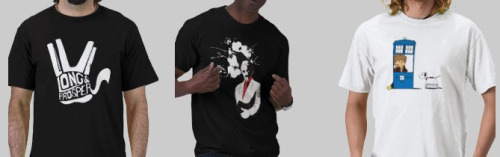 "Use code ""ZCYBERMONDAY"" to get $5 off one of my geeky t-shirts. A great holiday gift! Click Here!"