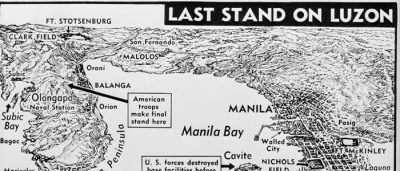 Map: Last Stand on Luzon – U.S. Army (1943) originally posted to the BIG Map Blog.
