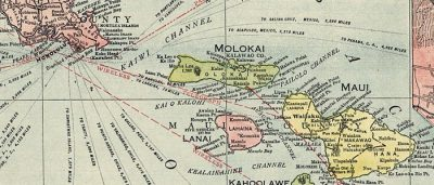 Map: Map of Hawaii – Rand McNally (1912) originally posted to the BIG Map Blog.