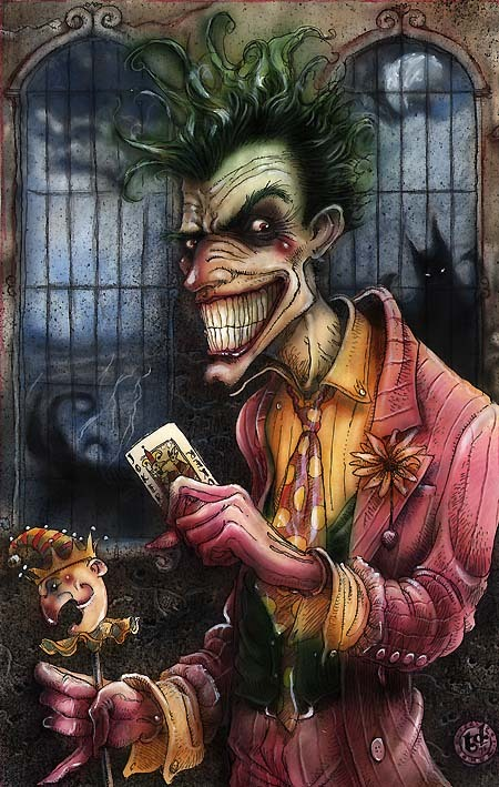 fuckyeahbatmanvillains:  -Tony DiTerlizzi.