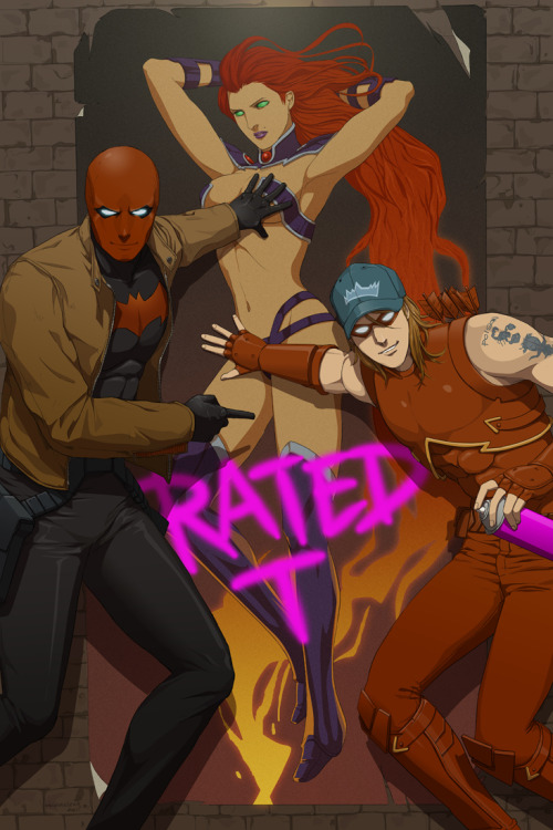 chifuyu:  birdsberries:  Red Hood and the Outlaws by *doubleleaf  LoL