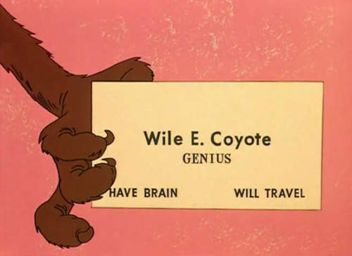 imremembering:  Wile E. Cyote via growingpangs: drinkyourjuice