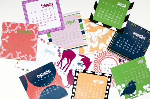 Introducing our 2012 Pop-Out Calendar! Today only get it for $9.99.