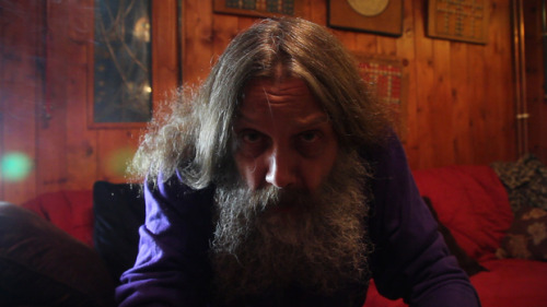 The notoriously reclusive Alan Moore talks with us about Harvey Pekar's influence, quantum physics, Frank Miller's rant, why he usually avoids the Internet, and his unprecedented videoconference to raise Kickstarter cash for a Pekar memorial statue.