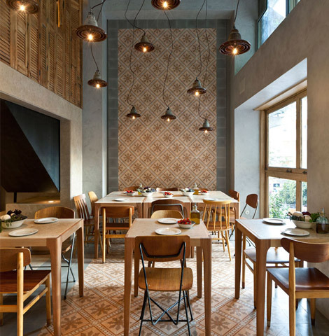 Capanna Pizzeria in Athens by K-studio.
