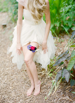 Wedding Garter {Inspiration}