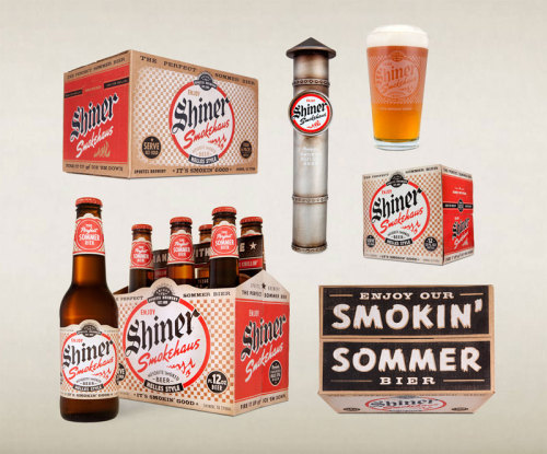 J'adore Shiner's branding & packaging!