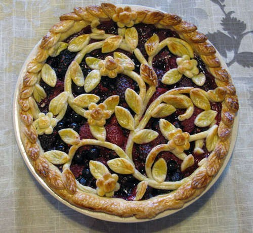 grammasteez:  prettiest pie