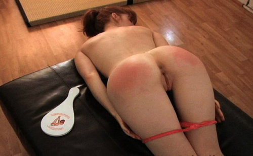I really miss giving paddle spankings… just how red & sore their ass would end up, hearing their little muffles whimpers as they tried to sit down without pain a few hours later, but remember just how sore they still were, and then sometimes smiling from remembering what happened.